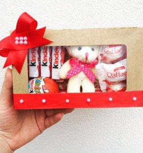 Коробочка с конфетами подарок