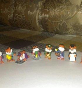 Коллекции игрушек из киндер-сюрприза