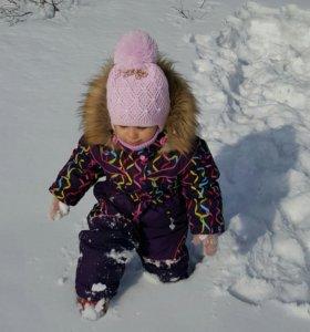 Шикарный зимний комбинезон, рост 92 см