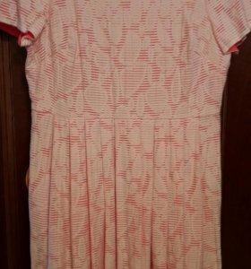 Летнее платье 48-50размер.