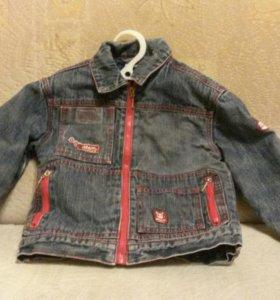 Утепленая джинсовка