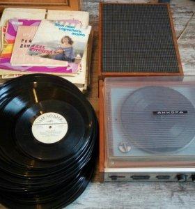Граммофон и 75 пластинок