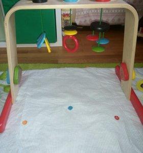 Игровой тренажер и развивающий коврик Ikea