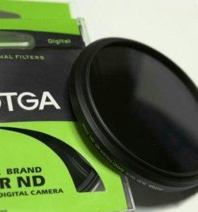 62 mm ND2-ND400 Fotga нейтрально-серый фильтр