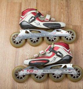 Беговые ролики Rollerblade Problade 4х100 + колеса