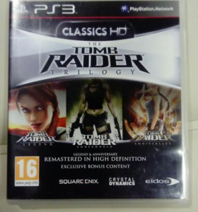 The Tomb Rider Trilogy Ps3