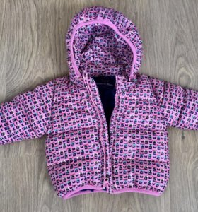 Куртка(утеплённая,достаточно тёплая)
