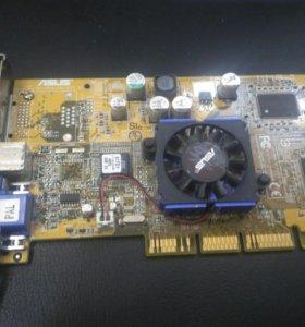 Видеокарта ASUS на 64 Mb