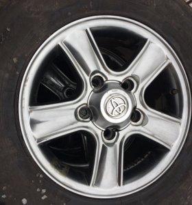 Диски Toyota Landcruiser R17