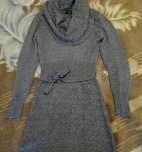 Платье шерстяное Oodji