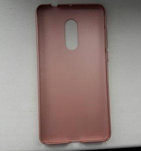Пластиковый чехол для Xiaomi redmi note4