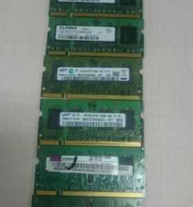 1г 6400 DDR2 Оперативная память для ноутбука