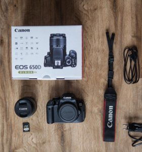 Canon 650D Kit 18-55mm F/3.5-5.6 III