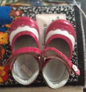 Туфли для девочки, ортопедич , р20
