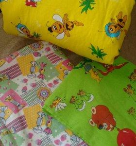 Одеяло синтепоновое+2 комплекта