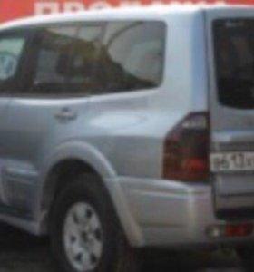 Задний бампер Mitsubishi Pajero/Мицубиси Паджеро