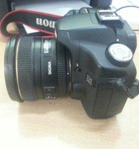 Зеркальный фотоаппарат canon eos50d +обьектив