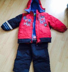 Зимний комбез для мальчика 104