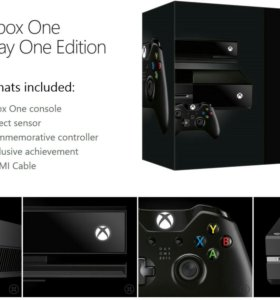 XBOX ONE + Kinect + 96 игр - обмен