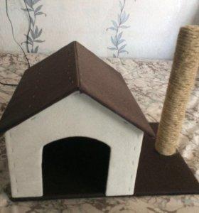 Домик для котёнка.