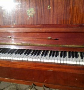 пианино прилюдия