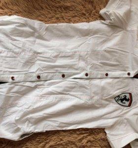 Рубашка новая удлин.