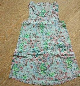 Next новое платье-сарафан, 4-5 лет