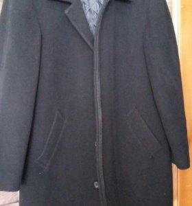 Пальто мужское, 100% шерсть