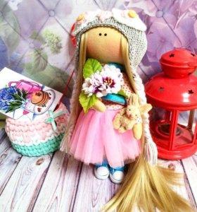 Текстильная-интерьерная куколка