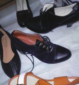 Ботинки замша натуральная.