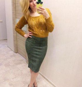 Новые юбки свитер.