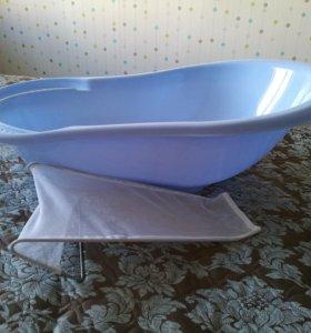 Ванночка+горка для новорожденного