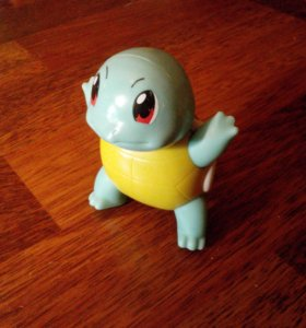 Squirtle pokemon happy meal McDonald's