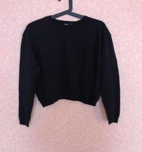 Укорочeнный пуловер