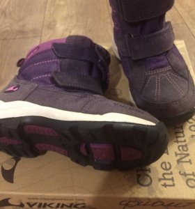 Ботинки зимние Viking фиолет
