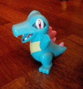 Totodile pokemon happy meal McDonald's