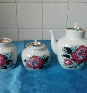Набор чайный ЛФЗ (фарфор)