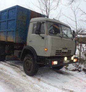 Вывоз строительного мусора 20-27 куб
