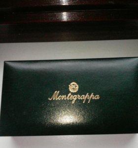 Ручка перьевая Montegrappa перо золото-платина