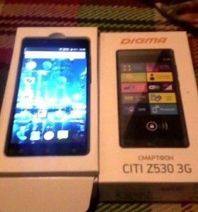 Новый 1 месяц в иксплотСмартфон Digma citi z530 3g