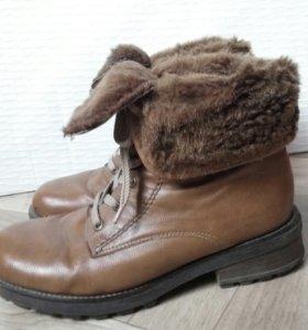 Ботинки женские зимние Rieker