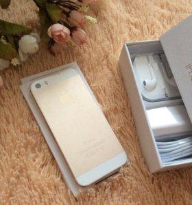 Новый оригинальный телефон Apple iPhone 5S gold