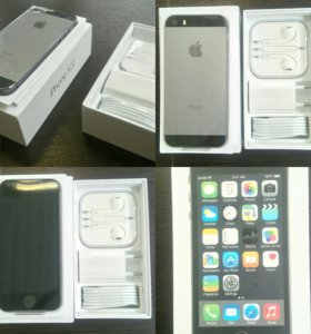 Apple iPhone 5S, Space Gray 16GB.