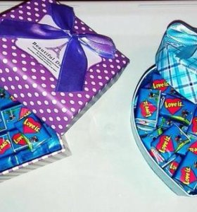 Сладкие подарки в коробках
