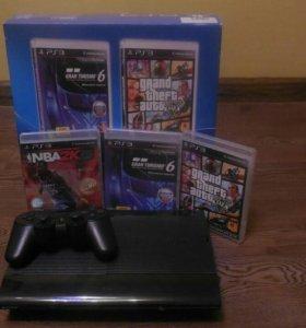 Продам PlayStation 3 slim