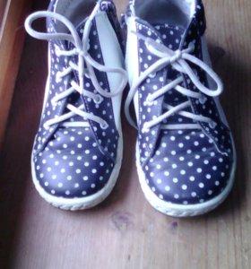 Ботинки на девочку котофей