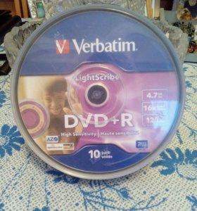 DVD+R VERBATIM с технологией LightScribe