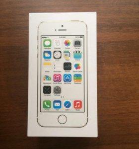 Коробка от IPhone 5s и 4s