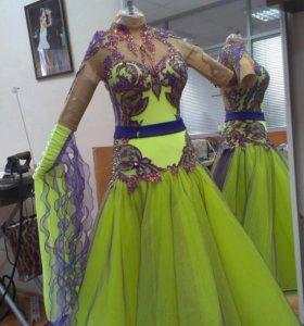Платье для бальных танцев. Стандарт Ю-2, Молодежь