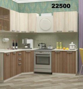 Кухня Шимо угловая